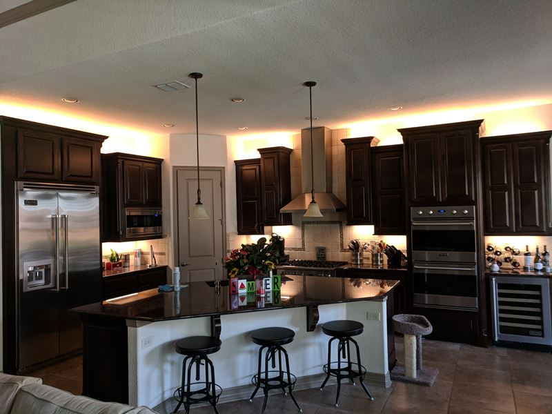 Latest Project: LED Under Cabinet Kitchen Lighting in San Antonio ...